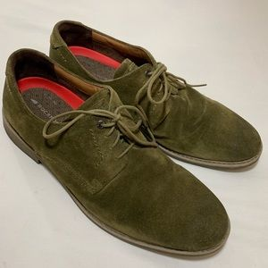 Rockport Green Suede Oxfords